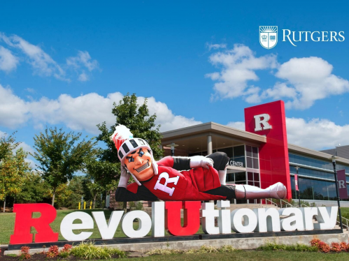 Scarlet Knight on Revolutionary Sign, Visitor Center
